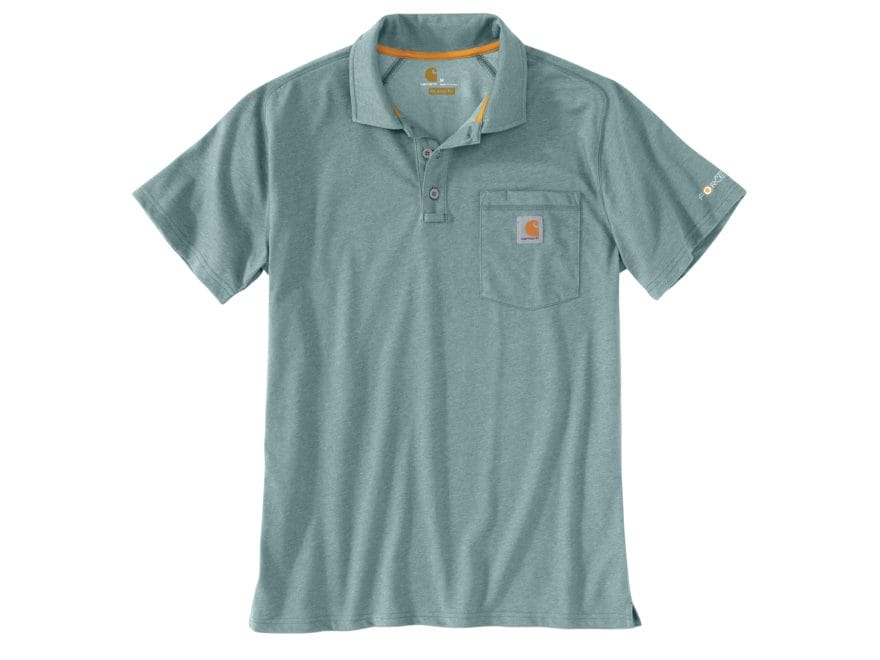 Carhartt Men's Force Delmont Polo Short Sleeve