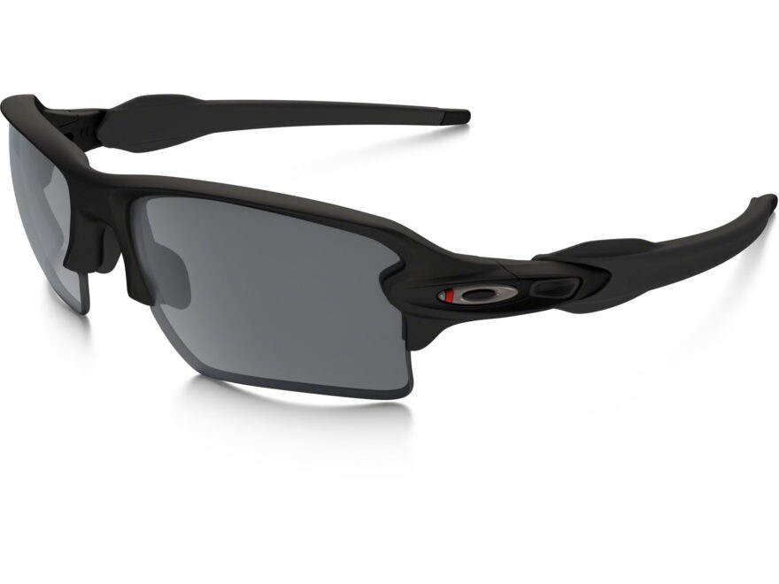 Oakley SI Flak 2.0 XL Thin Red Line Sunglasses Black Frame/Black Iridium Lens
