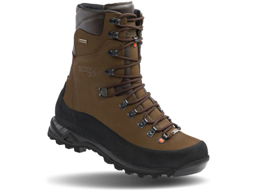 "Crispi Guide GTX 10"" GORE-TEX Insulated Hunting Boots Leather Brown Men's"