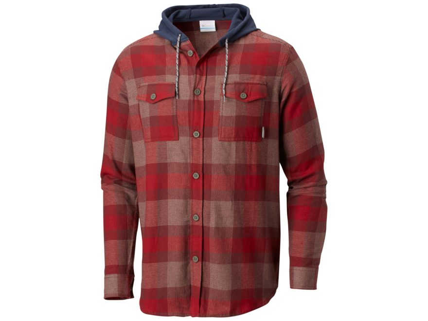 Columbia Men's Flare Gun Flannel Hoodie Cotton