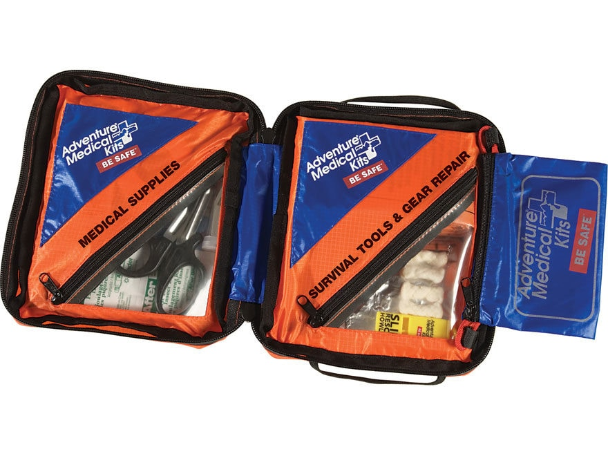 Adventure Medical Kits SOL Hybrid 3 Survival, First Aid, and Gear Repair Kit