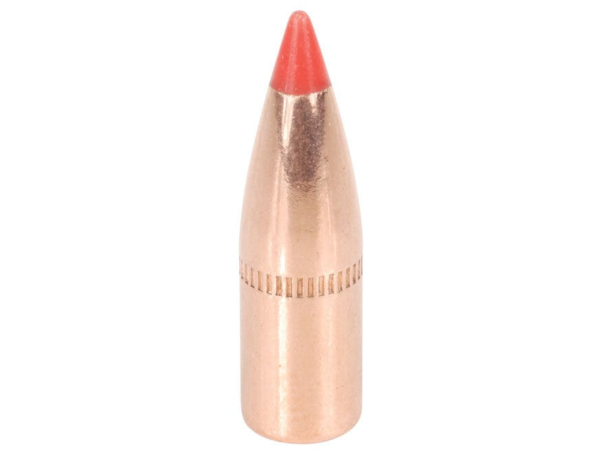 Hornady V-MAX Bullets 22 Caliber (224 Diameter) 55 Grain with Cannelure Box of 100