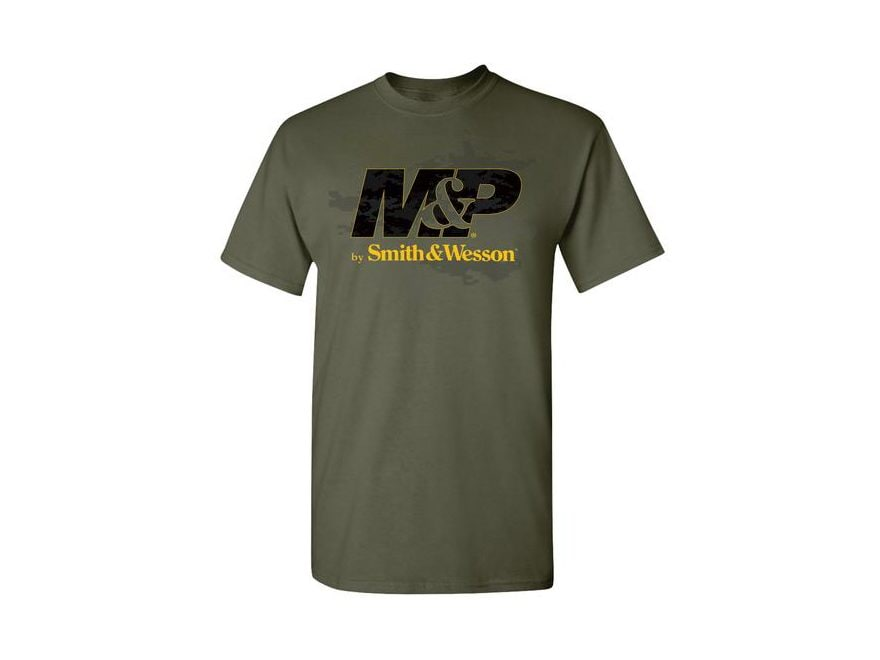 Smith & Wesson M&P Men's Logo T-Shirt Short Sleeve Cotton