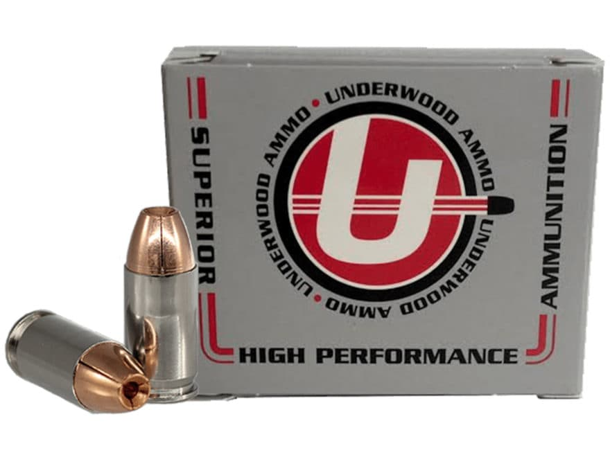 Underwood Ammunition 380 ACP +P 75 Grain Lehigh Controlled Fracturing Hollow Point Lead...