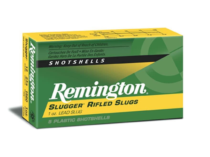 """Remington Slugger Ammunition 12 Gauge 2-3/4"""" 1 oz Rifled Slug"""