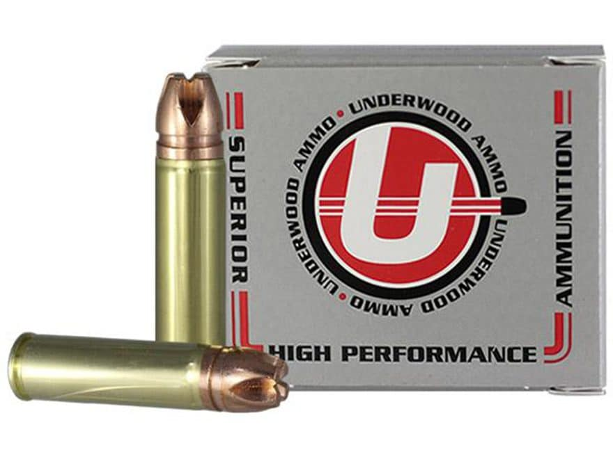 Underwood Ammunition 500 S&W Magnum 420 Grain Lehigh Xtreme Penetrator Lead-Free Box of 20