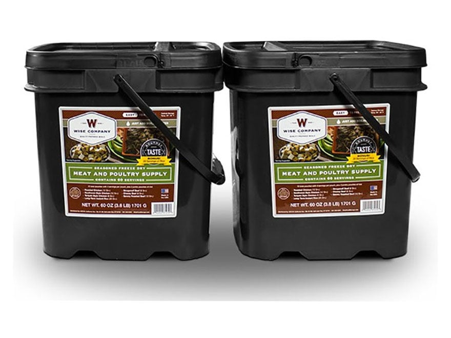 Wise Company 120 Serving Meat Freeze Dried Food