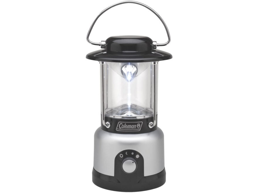 Coleman CPX 6 Multipurpose Lantern LED Requires 4 D Batteries Polymer Silver