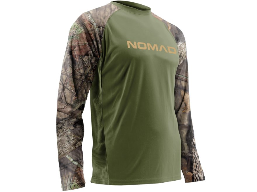 Nomad Men's Raglan T-Shirt Long Sleeve