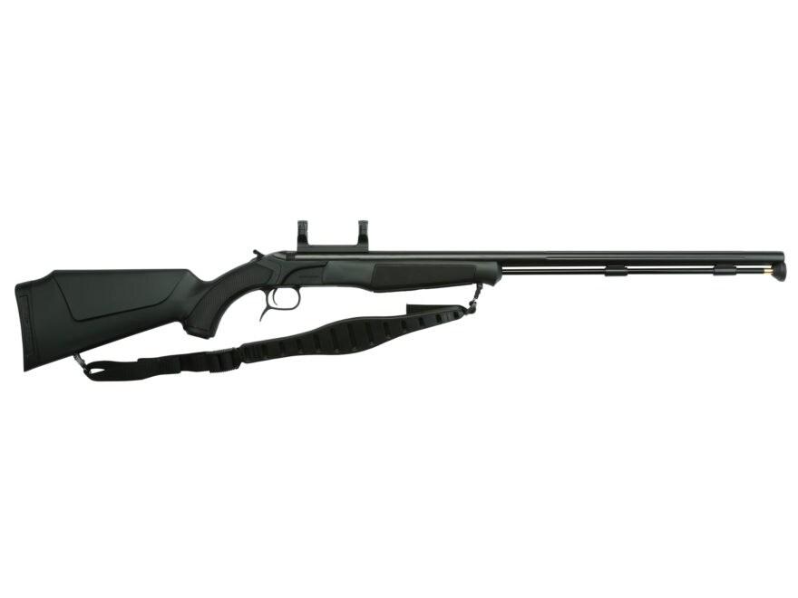 "CVA Accura PR Muzzleloading Rifle with Dead-On Scope Mount 50 Caliber 28"" Fluted Nitrid..."