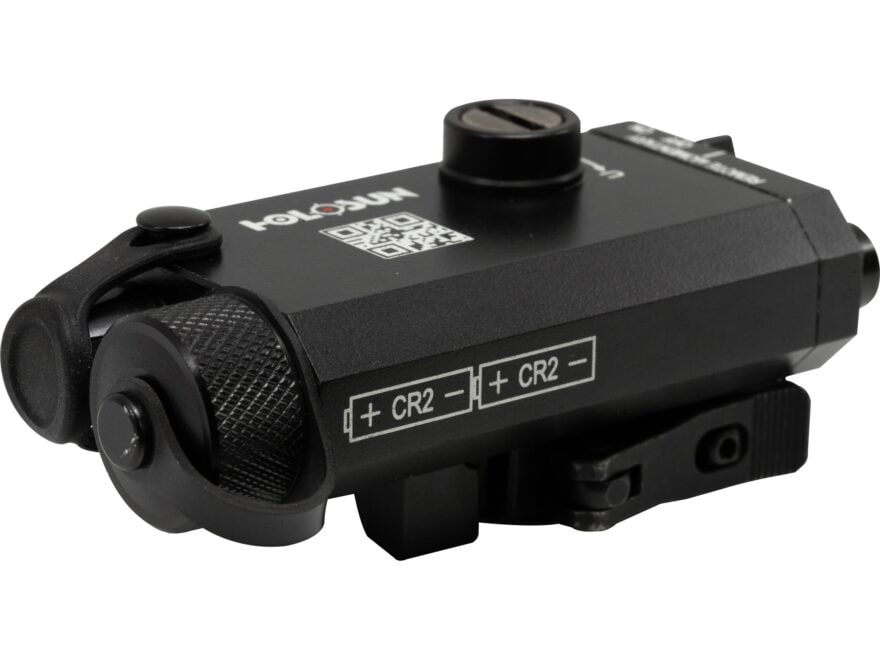Holosun LS117 Laser Sight with Weaver-Style Mount Matte