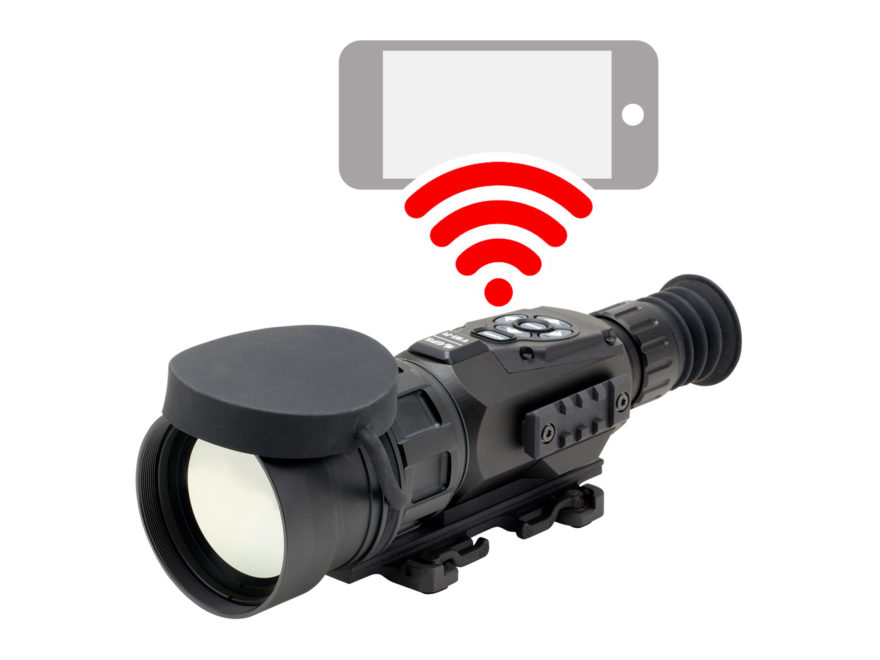 ATN ThOR HD Thermal Rifle Scope 9-36x 100mm 384x288 with HD Video Recording, Wi-Fi, GPS...