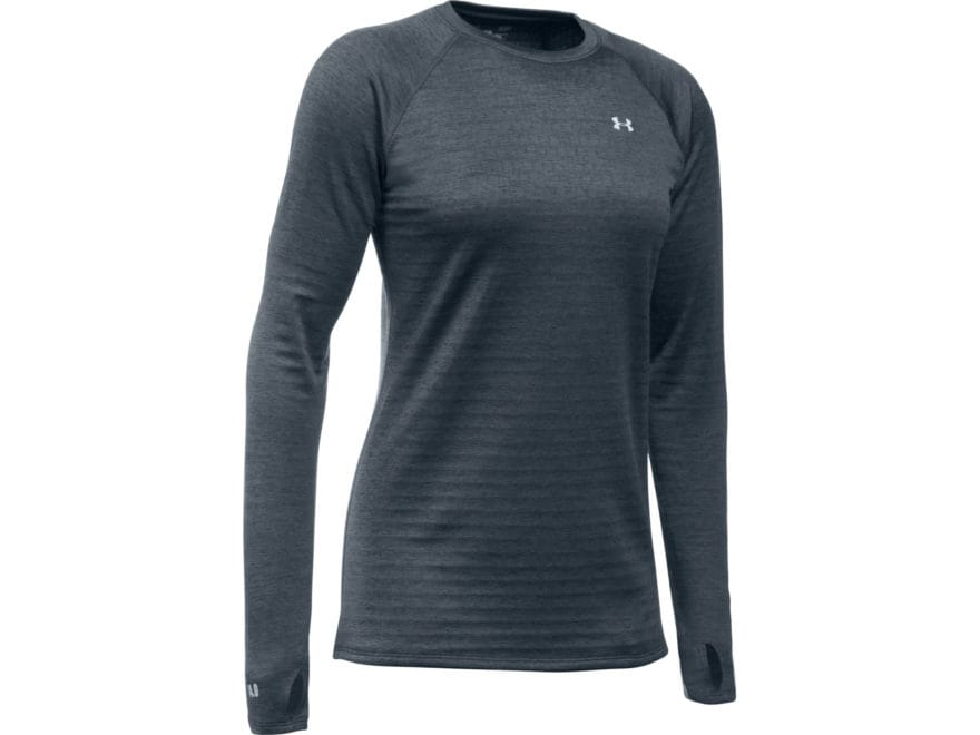 Under Armour Women's UA Base 4.0 Crew Base Layer Shirt Long Sleeve Polyester