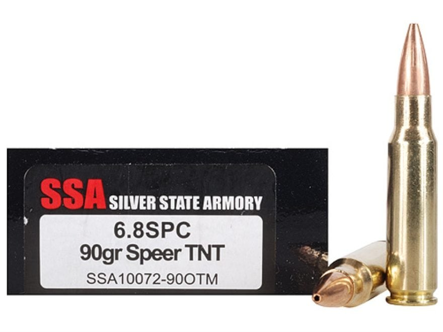 Silver State Armory Ammo 68mm Remington SPC 90
