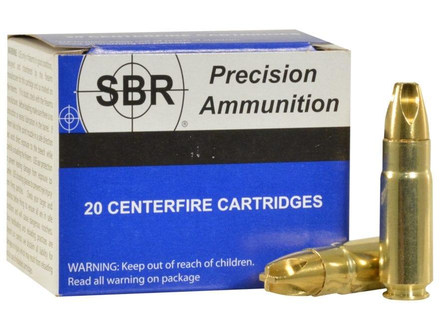 SBR Ammunition 458 HAMR 300 Grain Lehigh Xtreme Penetrator Lead-Free Box of 20