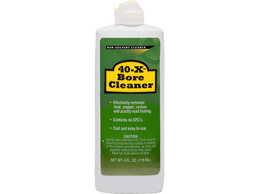 Remington 40-X Bore Cleaner Bore Cleaning Solvent 4 oz Liquid