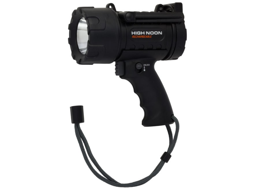 Browning High Noon Spotlight LED with Rechargeable Battery Polymer Black