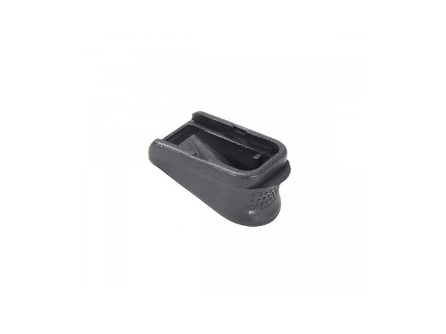 Pachmayr Grip Extender Magazine Base Pad +2 Glock 26, 27, 33, 39 Polymer Black Package ...