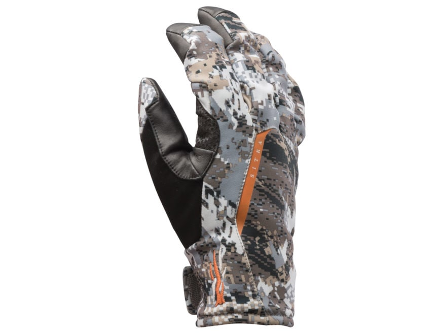 Sitka Gear Downpour GTX Waterproof Gloves Polyester Gore Optifade Elevated II Camo