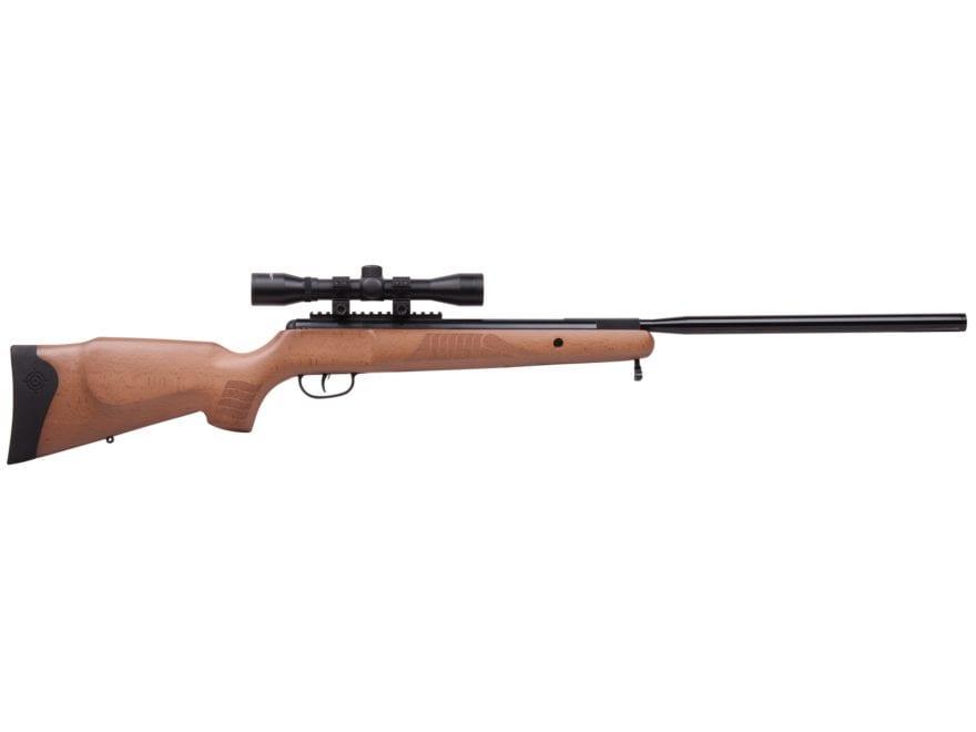 Crosman GuideHawk Nitro Piston Break Barrel Air Rifle 177 Caliber Pellet Wood Stock wit...