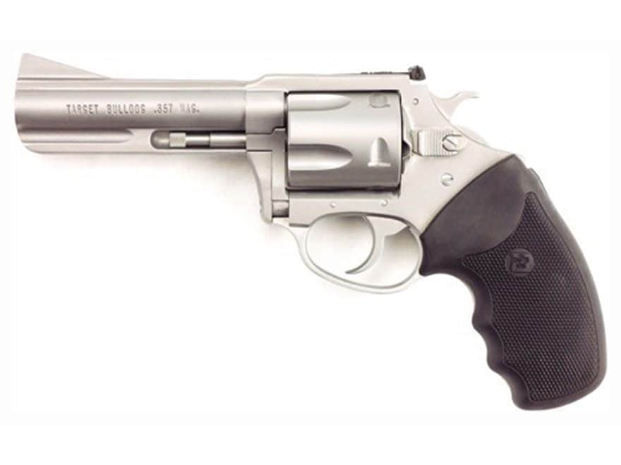 "Charter Arms 73542 Target Mag Pug Revolver 357 Magnum 4.2"" Barrel 5-Round and Black Rubber"