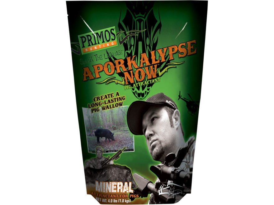 Primos Aporkalypse Now Hog Attractant Powder 4 lb Bag