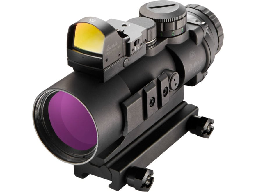 Burris AR-536 5x 36mm Prism Sight Ballistic CQ Reticle Matte with FastFire II Reflex Re...