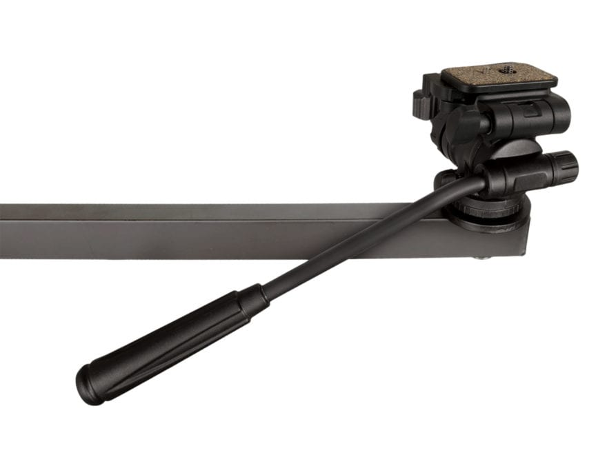 Muddy Outdoors Video Camera Arm Friction Head Black