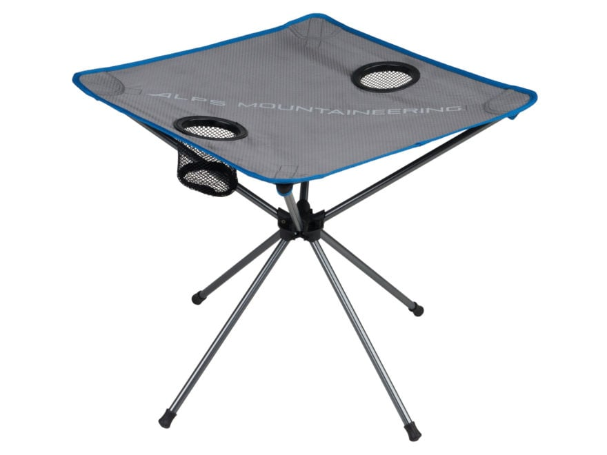 ALPS Mountaineering Ready Lite Camp Table Aluminum Gray