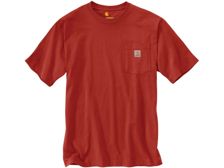 5926070460 Carhartt Men's Workwear Pocket Short Sleeve T-Shirt Cotton Hunter