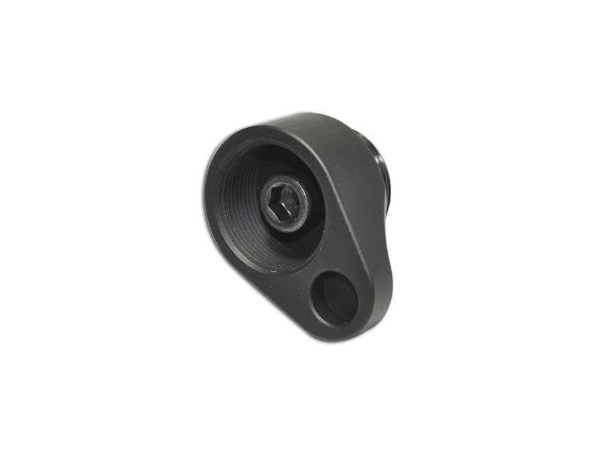 MDT V2 Fixed Stock Adapter for LSS Chassis Aluminum Black