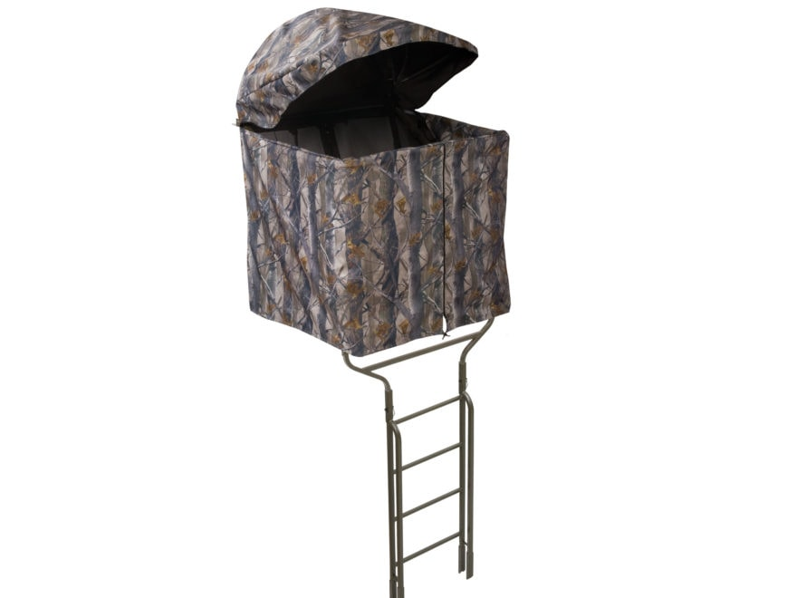 Millennium Treestands B-1 Ladder Treestand Blind Nylon and Aluminum