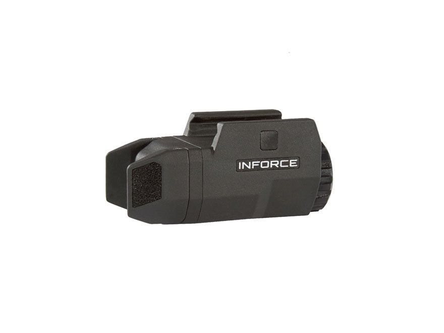 Inforce APLc Compact Tactical Weapon Light LED with 1 CR2 Battery Fiber Composite
