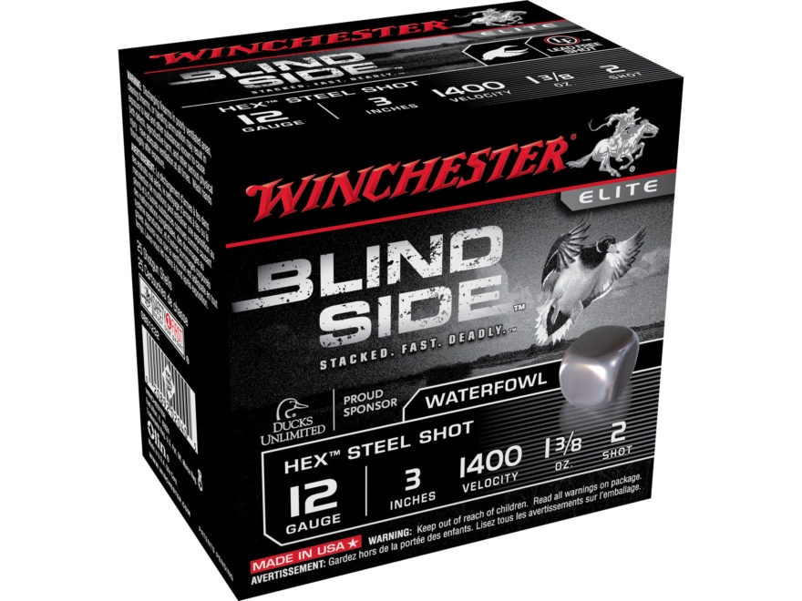 Winchester Blind Side Ammunition 12 Gauge Non-Toxic Steel Shot