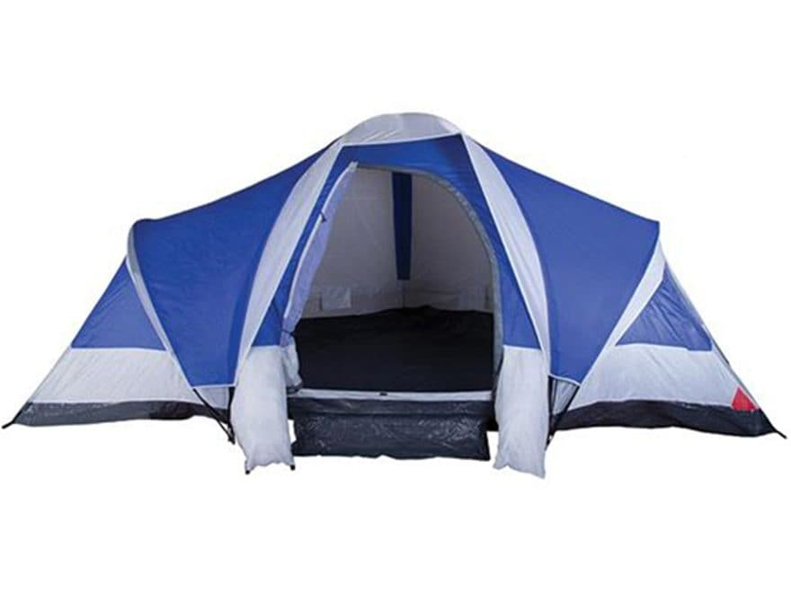 "Stansport Grand 18 3 Room Family Tent 120"" X 216"" X 72"" Polyester Blue"