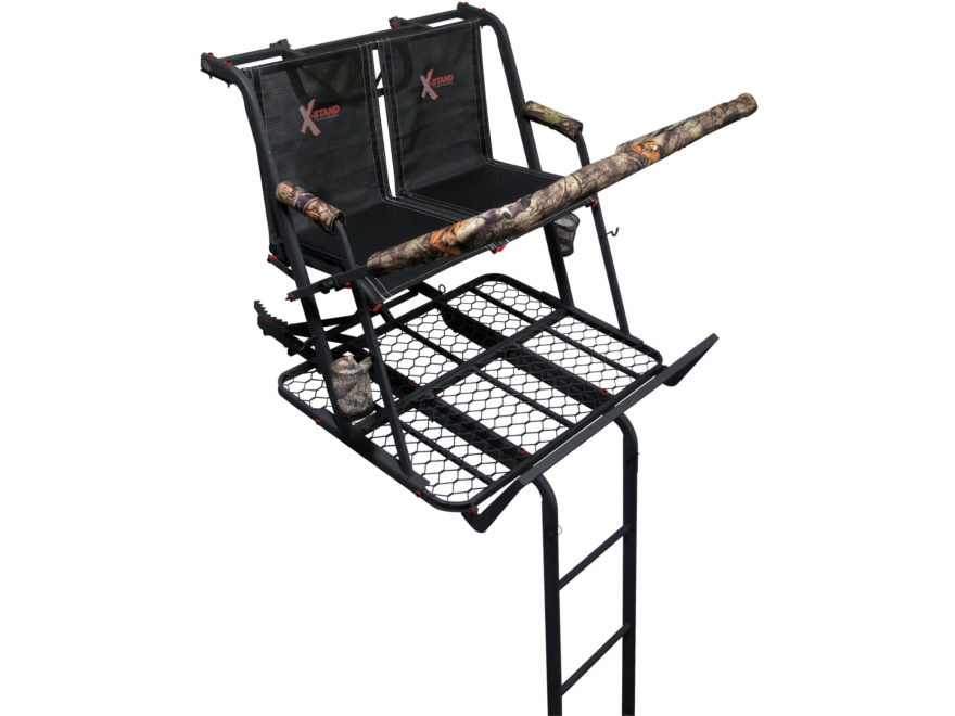 X-Stand The Jayhawk 20' Double Ladder Treestand Steel