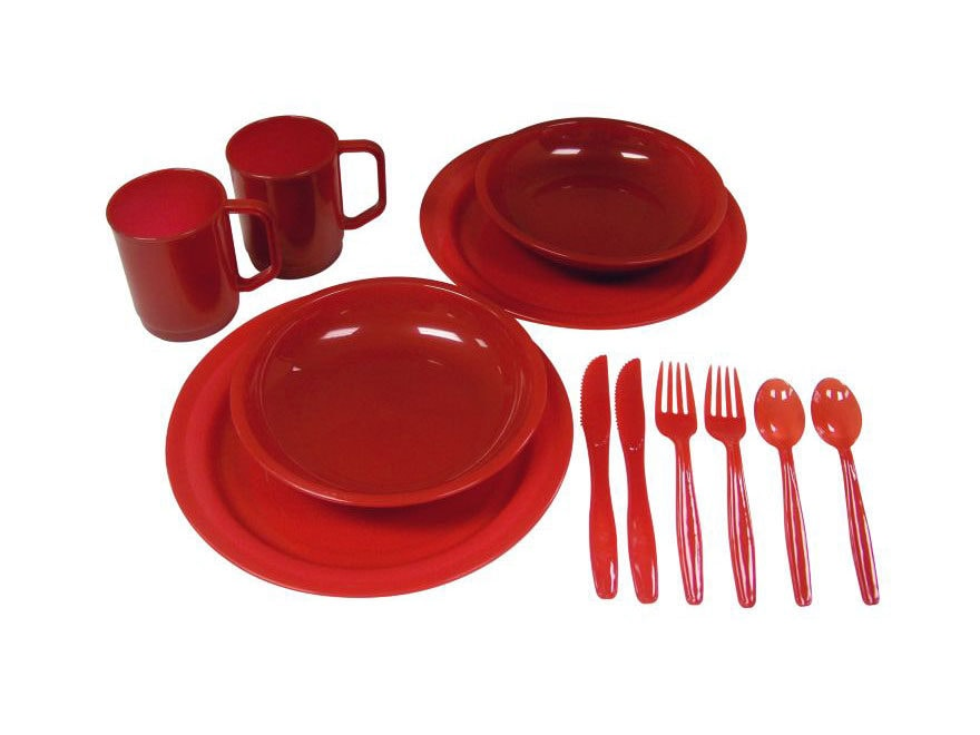 Coleman 2-Person Polymer Dinnerware Set