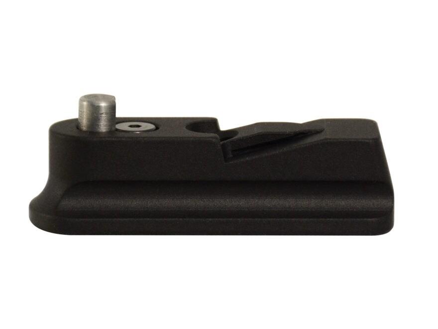 Volquartsen Magazine Ejector Extension Floorplate Ruger 22/45 Aluminum Black