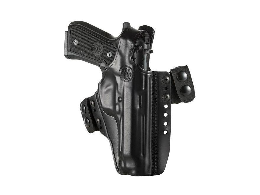 Beretta Mod. 3 Belt Holster Right Hand 92, 92F, 92FS, 96 Leather Black
