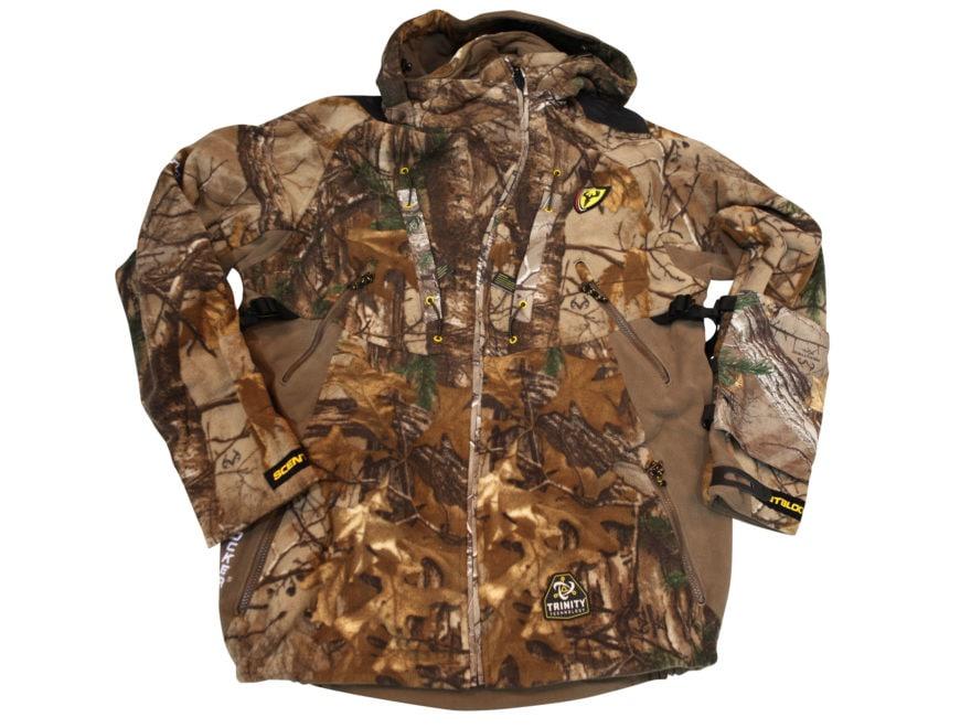 49f1ab9d4e28c ScentBlocker Men's Alpha Fleece Jacket Polyester Realtree Xtra Camo