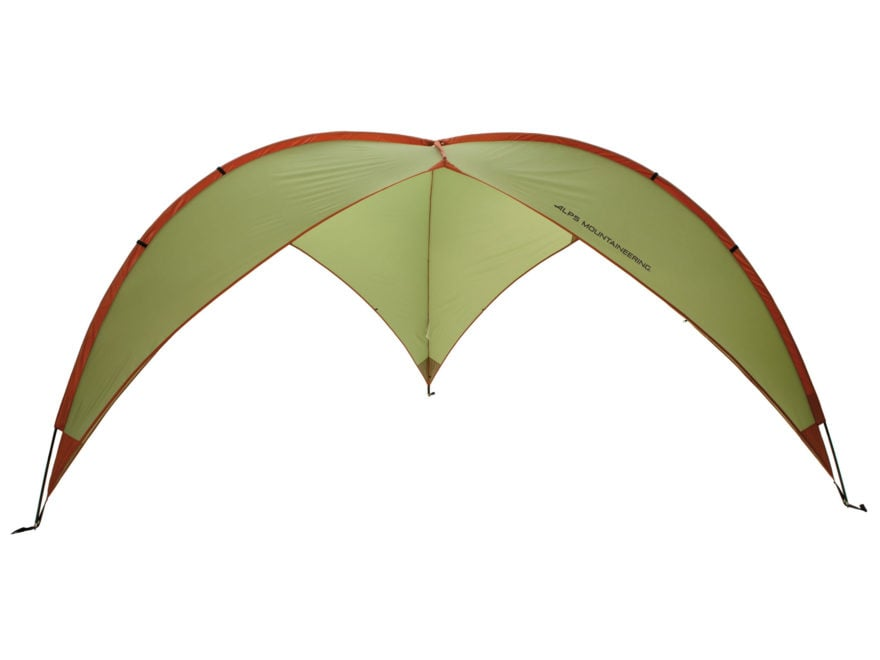 ALPS Mountaineering Tri-Awning Shelter Polyester Green