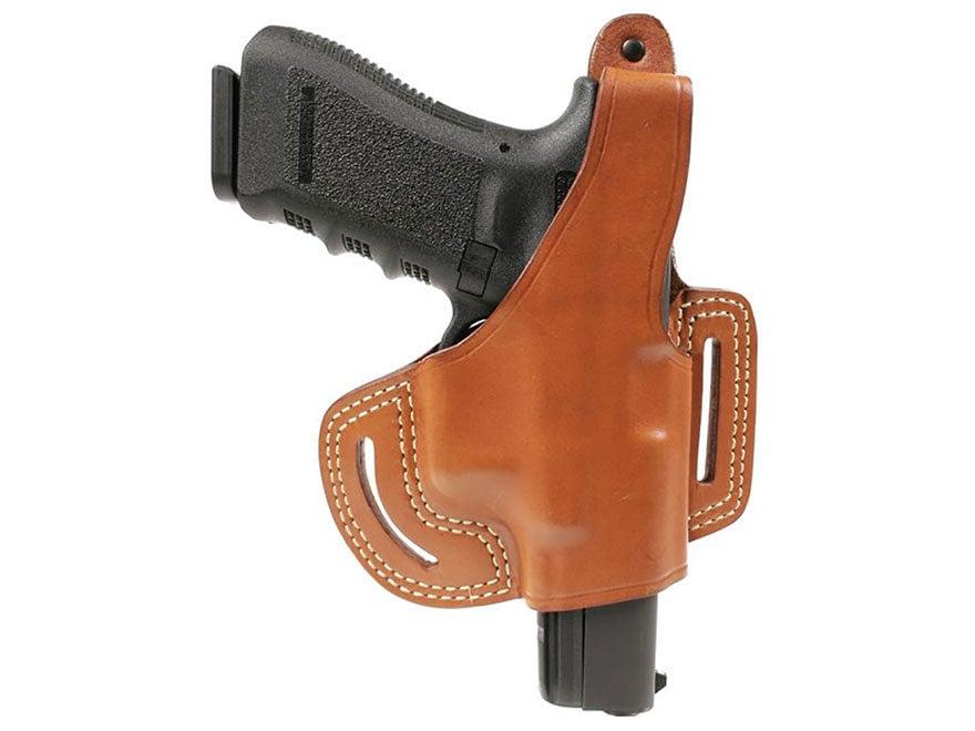BLACKHAWK! Leather Slide Holster with Thumb Break