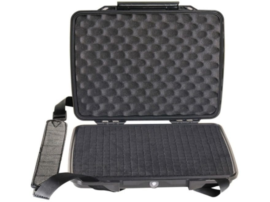 Pelican 1075 HardBack Tablet and Netbook Case with Pick-N-Pluck Foam and Carry Strap 10...