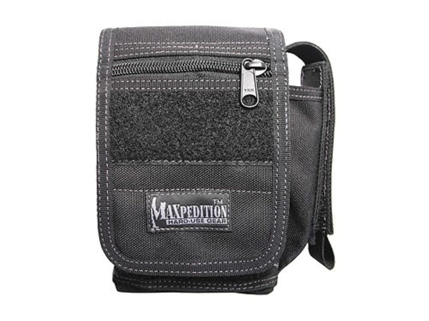 Maxpedition H-1 Waistpack Accessory Pouch Black