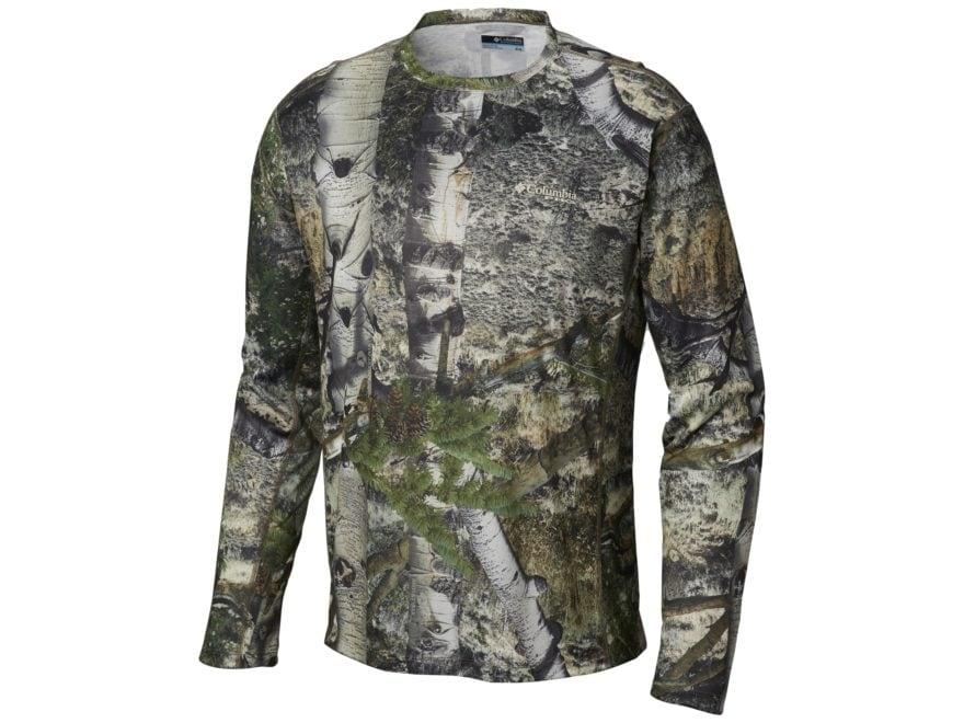 Columbia Men's PHG Trophy Rack Knit Shirt Long Sleeve Polyester