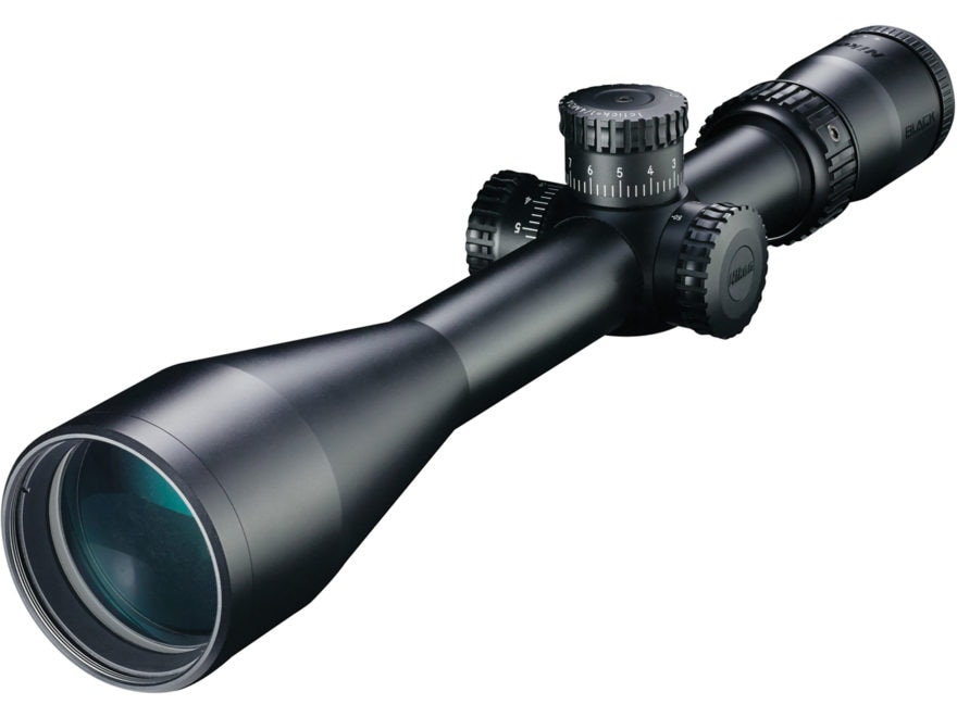 Nikon BLACK X1000 Rifle Scope 30mm Tube 4-16x 50mm Side Focus Matte