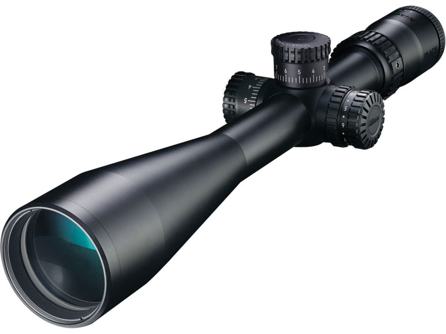 Nikon BLACK X1000 Rifle Scope 30mm Tube 6-24x 50mm Side Focus Illuminated X-MOA Reticle...