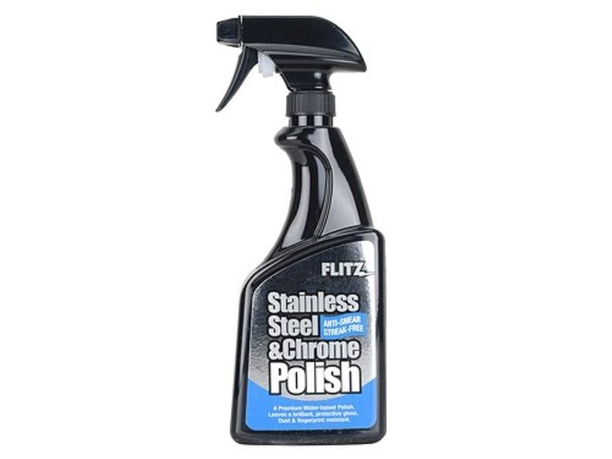 Flitz Stainless Steel and Chrome Polish 16 oz Pump