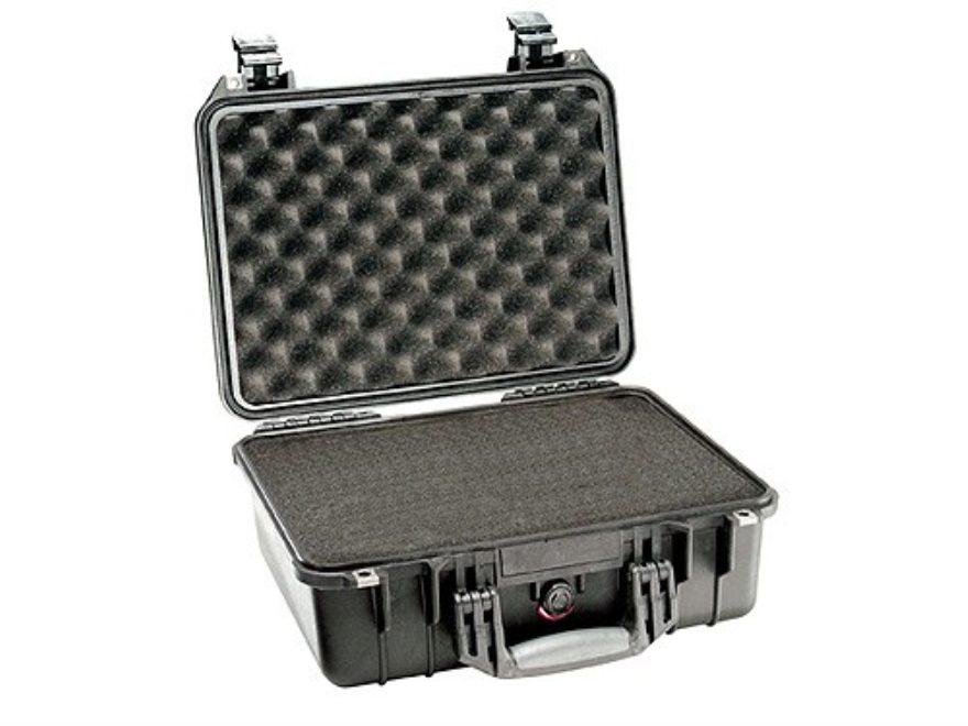 Pelican 1450 Pistol Case with Pre-Scored Foam Insert Polymer