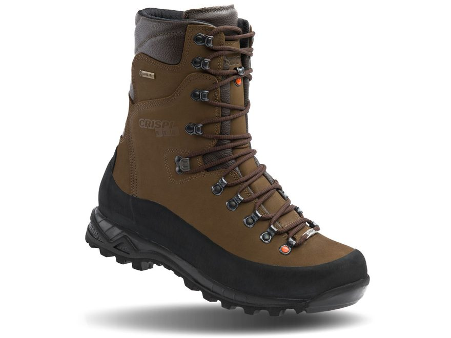 "Crispi Guide GTX 10"" GORE-TEX Waterproof Hunting Boots Leather Brown Men's"